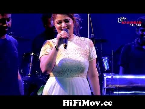 View Full Screen: tollywood glamour queen actress srabanti chatterjee live singing song toke hebbi lagche.jpg