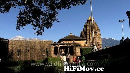 View Full Screen: baijnath shiv temple himachal and lovely forested mountains beyond.jpg