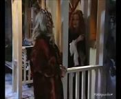 Original Airdate: February 21, 2001; Episode 420<br/><br/>Theresa attempts to come clean with Ethan but he misinterprets her remarks and guesses that her mother was the one who hid the truth about his family ties. As Kay and Father Lonigan battle the demons from hell, Hecuba and Tabitha lure Miguel and the others into a deadly trap. Meanwhile, Timmy furiously scribbles notes for his sequel. Though Whitney fears the worst for her best friend, Chad assures her that Ethan will forgive and forget once his fiancée admits the truth. Newly chummy Tabitha and Hecuba congratulate one another for wreaking such wonderful havoc at the Bennett house. With all hell breaking loose, Kay hears her terrified friends crying out for rescue but is held at bay by the hissing demons. Timmy daydreams of having a beautiful young protege to \