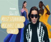This Miss Universe 2020 pageant may be over, but that won't stop us from admiring the stunning and intricate gowns created by Dubai-based Filipino designer Michael Cinco. His long list of A-lister clients aren't just limited to pageant contestants such as Pia Wurtzbach, but also a significant number of international and local celebs you've seen in movies, music videos, and award shows. <br/><br/>Want more Preview 10? Make sure you leave a like and subscribe to our channel!<br/><br/>Don't forget to watch or previous episodes of Preview 10 here: <br/>https://youtube.com/playlist?list=PLj7QBg_-BdUmSxR2r9bl1c71wNHNUcjq9<br/><br/>Music:<br/>\
